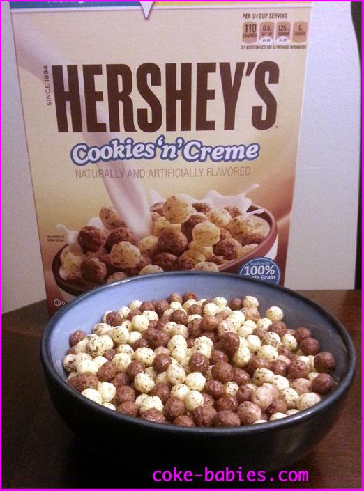Hershey's Cookies 'n' Creme & Vanilla Chex Hershey Cookies And Cream Cereal