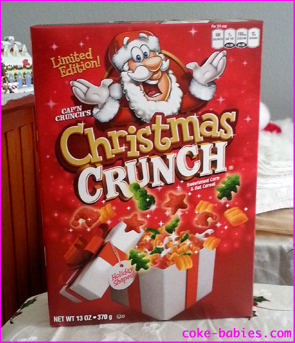 Christmas Crunch Cereal.Christmas Crunch