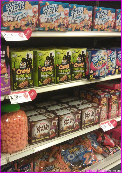 plenty of offenders can be seen here krave lucky charms treats mini oreos and more just repackage to get on the halloween bandwagon - Captain Crunch Halloween